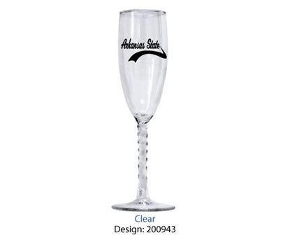 Picture of 3133 | 5.75 oz. Twisted Stem Flute Wine Glass