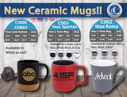 Picture of New Ceramic Mugs!