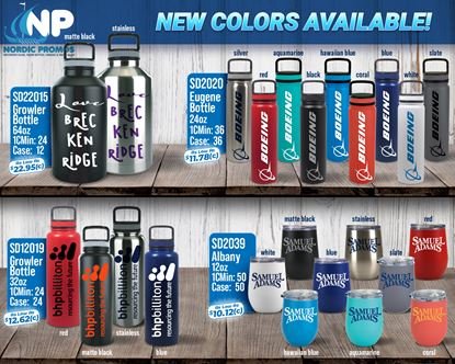 Picture of NEW! Vacuum Insulated Growler & Tumbler