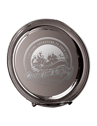 Picture of DE11 | Deep Etch 12 inch Silver Plated Tray
