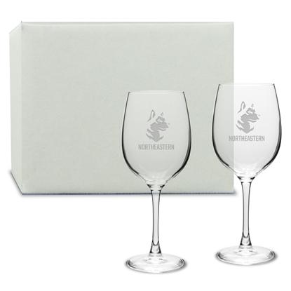 Picture of DE07S2 | 16oz Deep Etch Wine Glass 2pc set